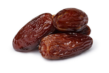 Dried dates isolated