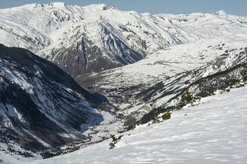 Pyrenees. Baqueira Ski Resort. Catalonia, Aran, Spain.