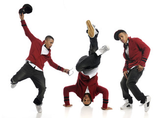 Multiple shots of Hip Hop Dancer performing