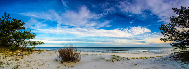 Fototapeta Panorama pejzaż morski