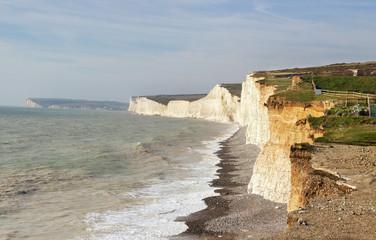 Seven sisters white cliffs.