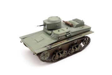 The main Soviet amphibious tank