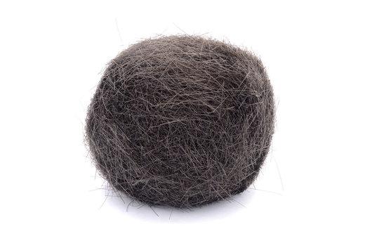 ball of hair