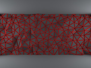 Red triangle net