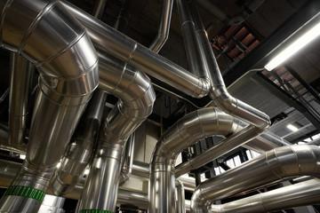interior industrial background.