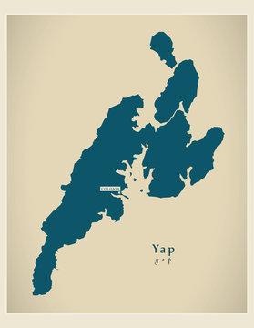 Modern Map - Yap FM