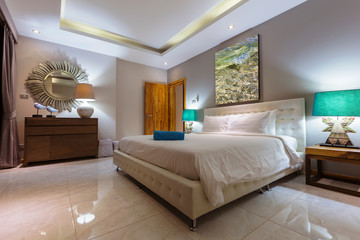 Luxury Villa Bedroom Interior design