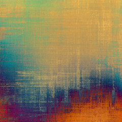Old school textured background. With different color patterns: yellow (beige); red (orange); blue; green