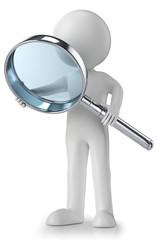 3d men magnifier