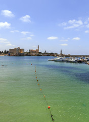 Beach of Alexandria and Al Montaza palace