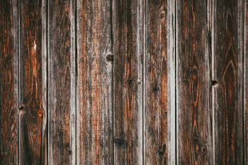 Raw wooden wall