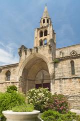 Montagnac (France), gothic church
