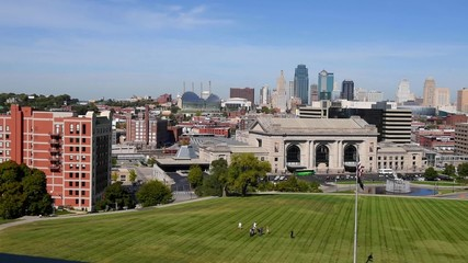 Aufkleber - View of Kansas City Missouri