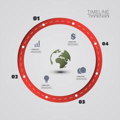 Eco Infographic Design Template