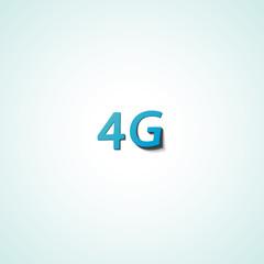 Four G web icon communication