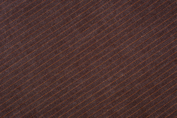 Деним коричневый в диагональную полоску