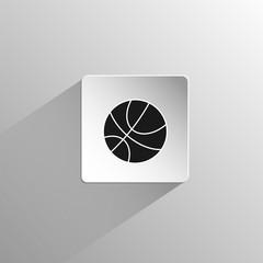 Basketball ball sport black icon