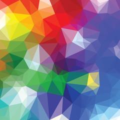 blur triangle color