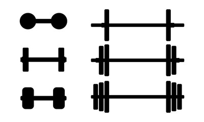 Silhouette Barbell Fitness Equipment Set