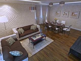 Luxury studio apartments in modern design