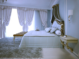 Avant garde design of bedroom