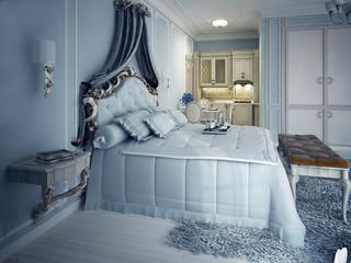 Royal studio apartments. Exclusive furniture