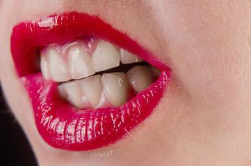 Lush Lips clear skin