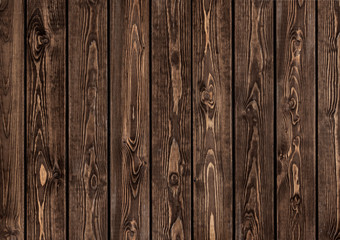 wall of brown wooden planks