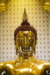 Golden Buddha Statue at Wat Traimit in Bangkok, Thailand.