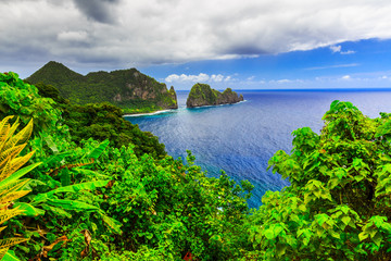 Pago Pago, American Samoa.
