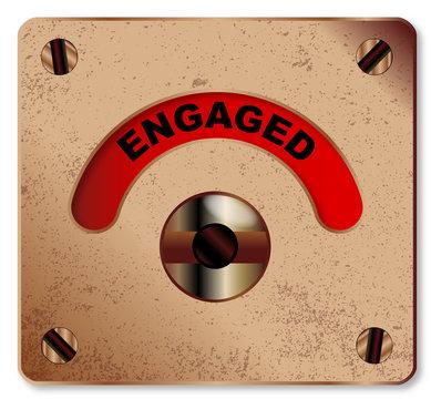 Loo Engaged Indicator