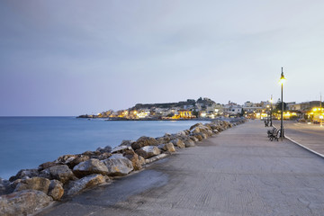 Greece, Crete, Paleochora, View of harbour