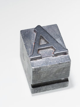 letter A isolated