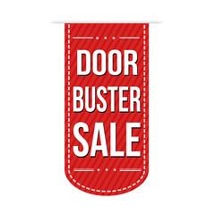 Door buster sale banner design