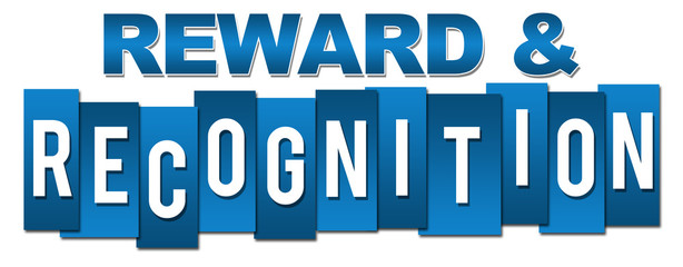 Reward And Recognition Professional Blue Stripes