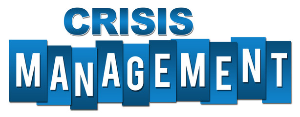 Crisis Management Professional Blue Stripes