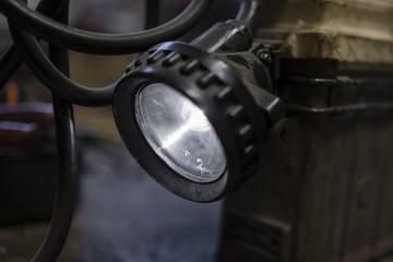 Old mine electric lamp light
