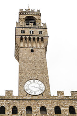 Big clock with a white background