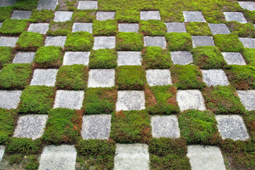 Moss and Stone Garden, Kyoto, Japan