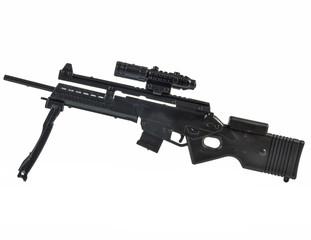 toy gun in white background.