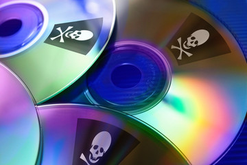 Internet piracy - illegal trademark abuse - criminality - DVD co