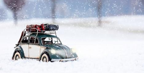 in viaggio per le vacanze di Natale