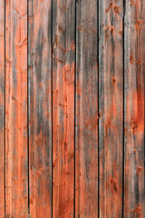 Red Rustic Weathered Barn Wood Board Background