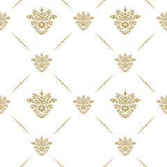 Oriental pattern with arabesque