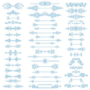 Winter decor,Divider bordes.Christmas,New Year