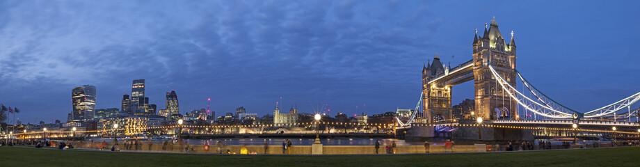 Photo sur Plexiglas Londres London Cityscape Panoramic