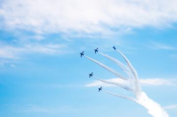 Blue Impulse at Iruma base,Saitama,tourism of japan(埼玉県・入間基地・ブルーインパルス)