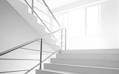 Fototapeten Treppe light and stairs