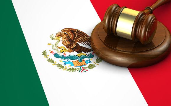 Mexico Law And Legislation Concept