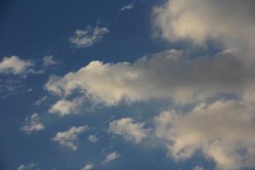 Sky clouds in blue sky